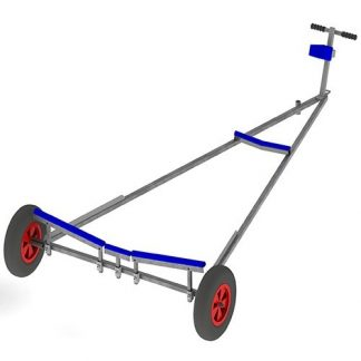 Launching trolley parts